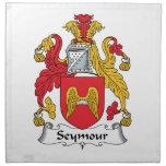 Escudo de la familia de Seymour Servilleta De Papel