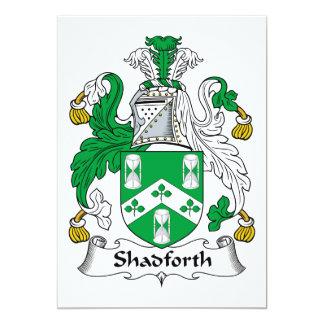 Escudo de la familia de Shadforth Anuncio Personalizado
