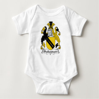 Escudo de la familia de Shakespeare Body Para Bebé