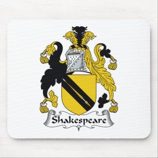 Escudo de la familia de Shakespeare Mouse Pads