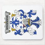 Escudo de la familia de Shanahan Tapetes De Ratón