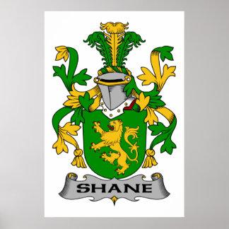 Escudo de la familia de Shane Posters