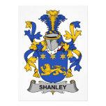 Escudo de la familia de Shanley Anuncio