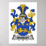 Escudo de la familia de Shanley Impresiones