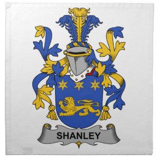 Escudo de la familia de Shanley Servilleta