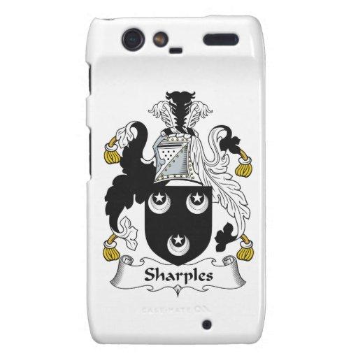Escudo de la familia de Sharples Motorola Droid RAZR Fundas