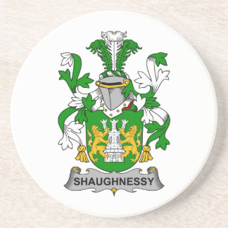 Escudo de la familia de Shaughnessy Posavasos Personalizados