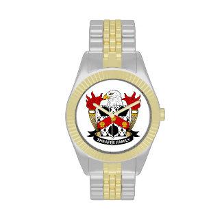 Escudo de la familia de Sheaffe Reloj De Mano