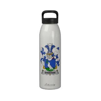 Escudo de la familia de Sheehan Botella De Beber