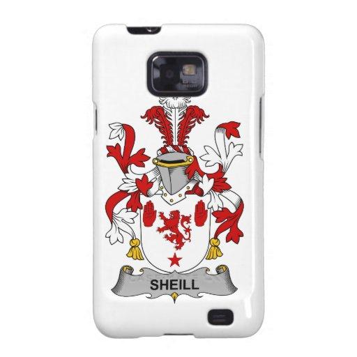 Escudo de la familia de Sheill Samsung Galaxy SII Fundas