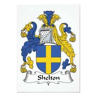 Escudo de la familia de Shelton Comunicados Personales