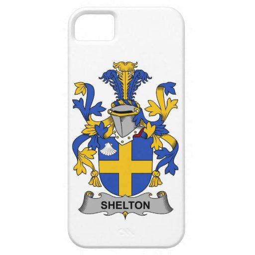 Escudo de la familia de Shelton iPhone 5 Carcasa