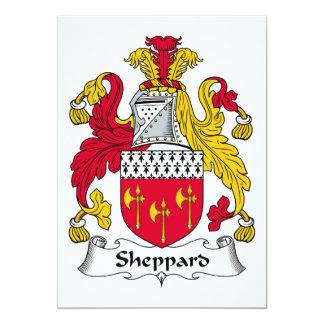 Escudo de la familia de Sheppard Comunicado Personalizado