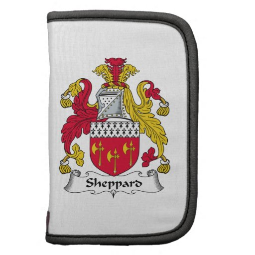 Escudo de la familia de Sheppard Organizadores