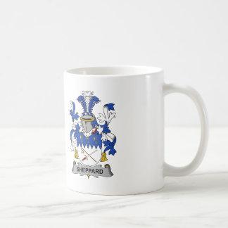 Escudo de la familia de Sheppard Tazas De Café