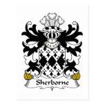 Escudo de la familia de Sherborne Postal
