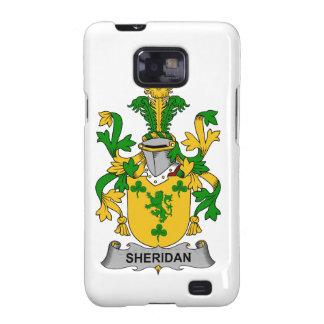 Escudo de la familia de Sheridan Galaxy SII Coberturas