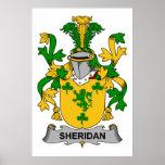 Escudo de la familia de Sheridan Impresiones