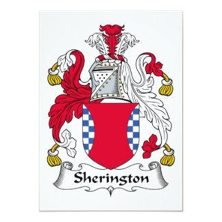 Escudo de la familia de Sherington Comunicado
