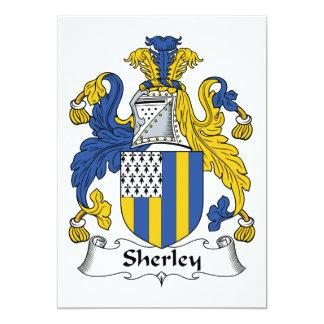 Escudo de la familia de Sherley Invitacion Personalizada