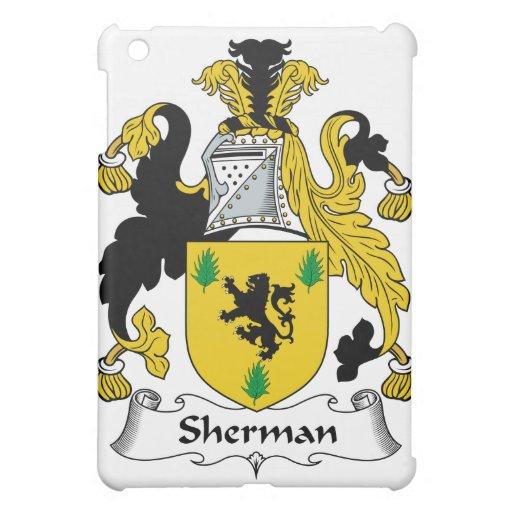 Escudo de la familia de Sherman