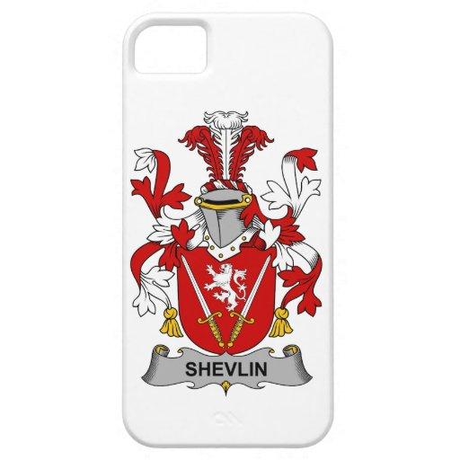 Escudo de la familia de Shevlin iPhone 5 Cárcasas