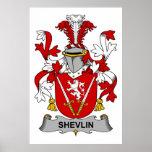 Escudo de la familia de Shevlin Poster
