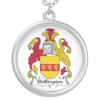 Escudo de la familia de Shillington Colgante Redondo