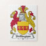 Escudo de la familia de Shillington Rompecabeza Con Fotos
