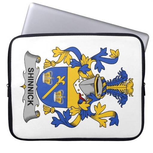 Escudo de la familia de Shinnick Fundas Ordendadores