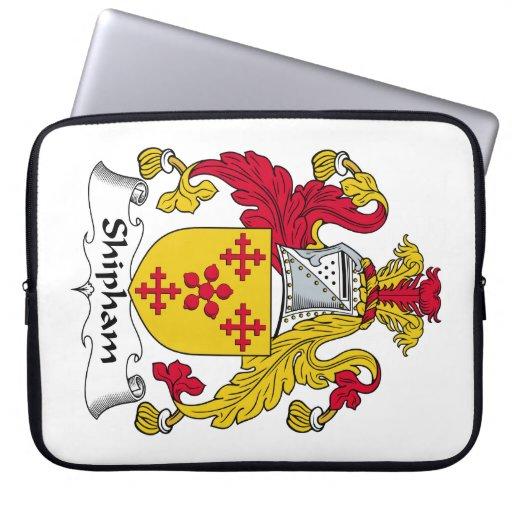 Escudo de la familia de Shipham Fundas Computadoras