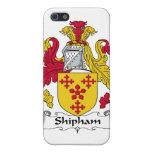 Escudo de la familia de Shipham iPhone 5 Cobertura