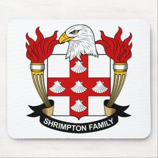 Escudo de la familia de Shrimpton Mousepad