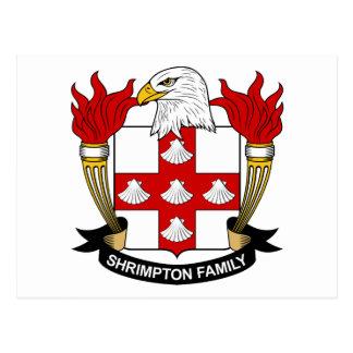 Escudo de la familia de Shrimpton Postal