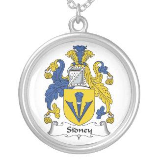 Escudo de la familia de Sidney Colgantes