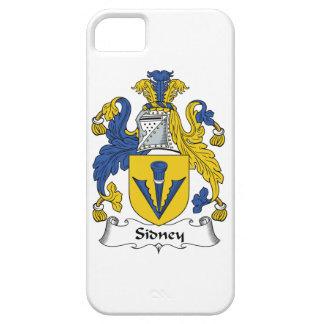 Escudo de la familia de Sidney iPhone 5 Case-Mate Cárcasas