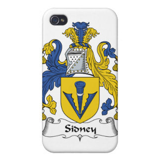 Escudo de la familia de Sidney iPhone 4 Protector