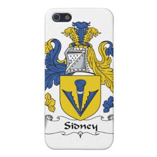 Escudo de la familia de Sidney iPhone 5 Funda