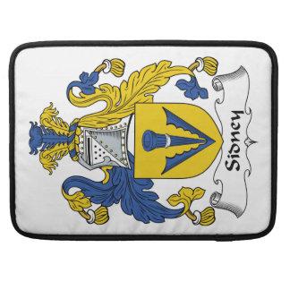 Escudo de la familia de Sidney Fundas Para Macbook Pro
