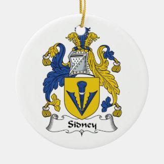 Escudo de la familia de Sidney Ornatos