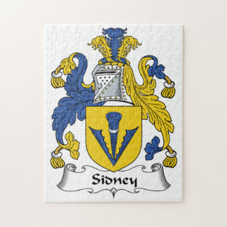 Escudo de la familia de Sidney Rompecabeza Con Fotos