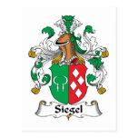 Escudo de la familia de Siegel Postal