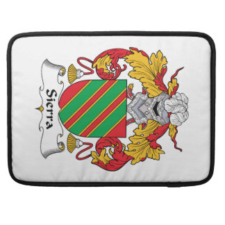 Escudo de la familia de Sierra Funda Para Macbooks