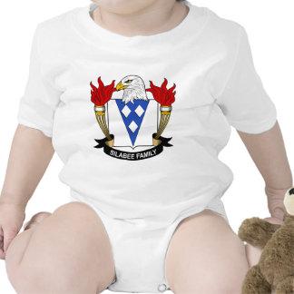 Escudo de la familia de Silabee Trajes De Bebé