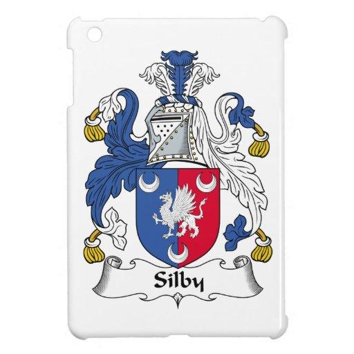 Escudo de la familia de Silby iPad Mini Cárcasas