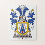 Escudo de la familia de Silfvergren Rompecabeza Con Fotos