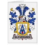 Escudo de la familia de Silfvergren Tarjeta