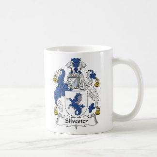 Escudo de la familia de Silvester Tazas De Café
