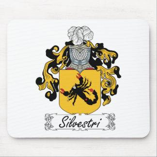 Escudo de la familia de Silvestri Mouse Pad