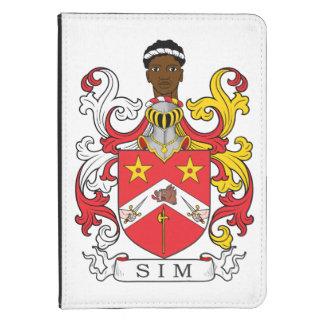 Escudo de la familia de Sim Funda De Kindle 4